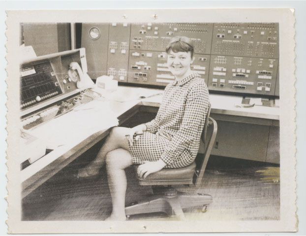 Mary Ann Mansigh Karlsen in 1965 in Livermore National Laboratory