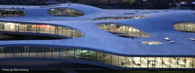 EPFL Rolex Learning Center. Photo by Alain Herzog