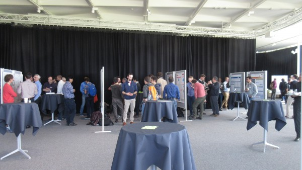 Poster session during the 2016 Site Visit