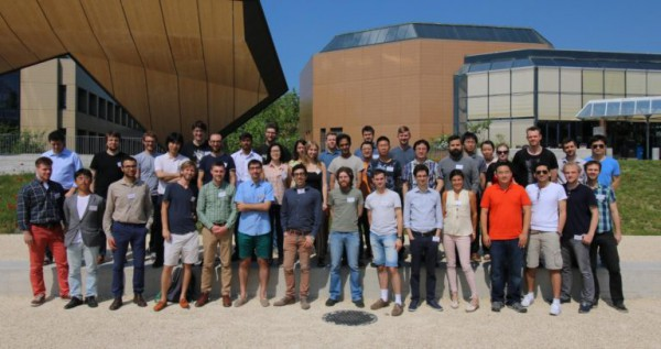 Group picture from the AiiDA tutorial, EPFL May 2017