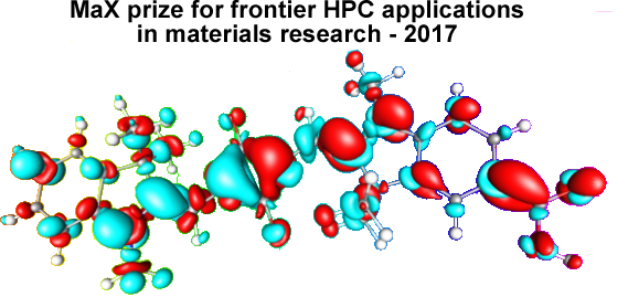 MaX Prize for frontier HPC applications in materials research - 2017